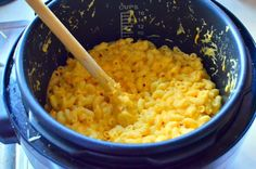 Pressure Cooker Macaroni and Cheese - Dad Cooks Dinner
