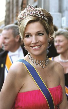 Máxima Zorreguieta - Dutch Queen 30-04-2013 http://www.shilly-beauty-care.marktplaza.nl