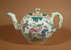 Teapot Staffordshire Factories c. 1750-1770