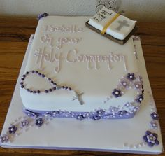 Holy Communion cakes | Holy Communion Cake | Flickr - Photo Sharing!