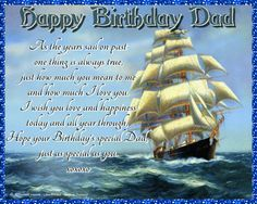 A lovely card of sentiment for dad. Free online Words Of Love For Dad ecards on Birthday Happy Birthday Penguin, Birthday Hug, Cute Happy Birthday, Birthday Wishes Funny, Birthday Songs, Beautiful Birthday Messages, Birthday Sparklers, Group Of Cats, Happy Panda