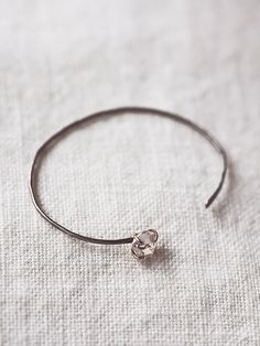 Free People Herkimer Diamond Skinny Cuff, $308.00