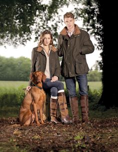 The Joyce & Bodkin waterproof and breathable cotton/ Cordura/ Kevlar mix shooting style jacket