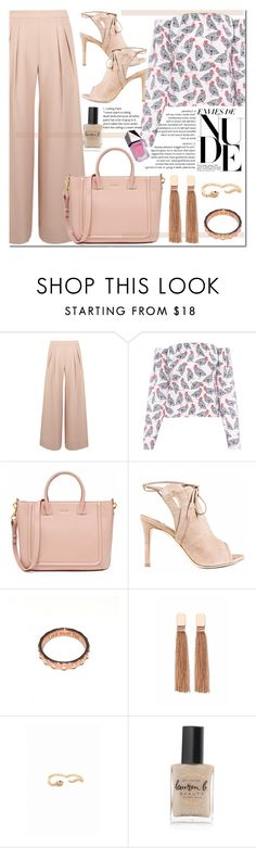 """""""Summer to fall outfit"""" by runway2street ❤ liked on Polyvore featuring Antipodium, FLOW the Label, Isa Tapia, Luca Jouel, Federica Tosi, Lauren B. Beauty and GUiSHEM"""