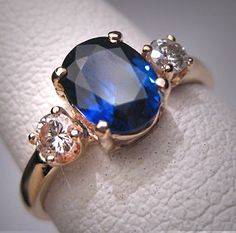 Antique vintage sapphire diamond wedding ring art deco Solitaire is a type of arena having Art Deco Wedding Rings, Cool Wedding Rings, Wedding Rings Vintage, Vintage Rings, Wedding Bands, Buy Diamond Ring, Sapphire Diamond, Diamond Wedding Rings, Sapphire Rings