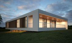 Concept House 3 by Maciej Chmura, via Behance