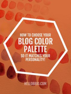 Choosing your blog's color palette, and why I'm re-coloring my blog