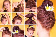 håropsætning trin for trin billeder