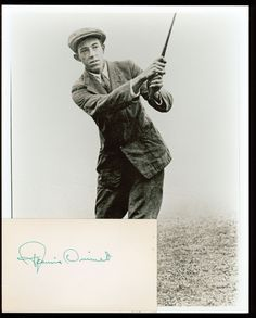 Francis Ouimet - Golfer from Brookline. Ma.