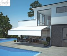 Signature Design lead the way in innovative lifestyle products ranging from energy efficient windows and window walls to glass rooms, verandas and Energy Efficient Windows, Glass Room, Covered Decks, Window Wall, Upper Deck, Signature Design, Bauhaus, Mansions, House Styles