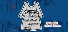 """Dress """"Cada lobo con su tema"""" / Set """"Menos lobos caperucita"""". #CUROI15"""