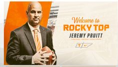 New Tennessee Volunteers Football Coach Jeremy Pruitt Tn Vols Football, Tennessee Volunteers Football, Tennessee Football, University Of Tennessee, Football And Basketball, Basketball Tickets, Tennessee Girls, East Tennessee, Vol Nation