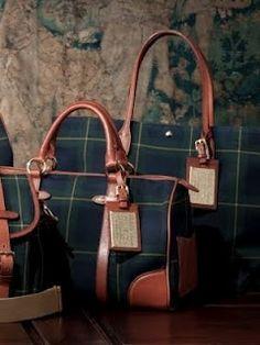 Ralph Lauren Purple Label a blackwatch plaid classic