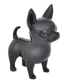 This Black Chihuahua Figurine is perfect! #zulilyfinds