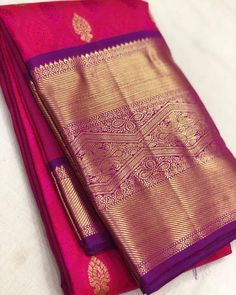 Pure Handloom Gold zari kanjivaram silk sarees Pl contact us at for orders and details We accept online… South Indian Wedding Saree, Wedding Silk Saree, South Indian Bride, Bridal Sarees, Pattu Saree Blouse Designs, Silk Saree Blouse Designs, Kanjivaram Sarees Silk, Georgette Sarees, Wedding Saree Collection