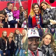 @TomBrady , @Gisele e as crianças já estão em Houston, Texas, e estiveram hoje no estádio onde ocorrerá o #SuperBowl amanhã (05). Como sempre carinhosa, Gisele posou para fotos com fãs. - Tom, Gisele and the kids are already in Houston, Texas, and today they visited the stadium where the #SuperBowl will take place tomorrow (05). Sweet as always, Gisele took pictures with fans. { #gisele #giselebundchen #tombrady #tb12 #tombrady12 #pats #patriots #gopats #gopatriots #superbowl51 #übermodel }