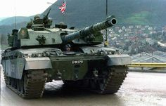 Challenger 1 of UK Army.