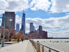 Ride a bike along the Hudson River Park.