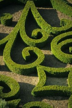 The gardens of Brecy. I like the idea of a small scale formal garden.