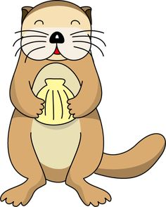 Clip Art Otter Clip Art cartoon otter t shirts gifts art posters and sea clip google search