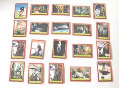 Star Wars Return of the Jedi Topps Trading Cards Set of 20 Random Lot 13 1980's