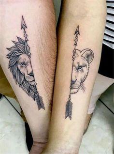 Matching Couple Tattoos Ideas to Try 2019 Ein paar Tattoo-Ideen für 2019 Trendy Tattoos, Cute Tattoos, Body Art Tattoos, New Tattoos, Awesome Tattoos, Mini Tattoos, Beautiful Tattoos, Symbol Tattoos, Small Tattoos Men