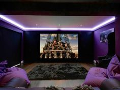 Image result for small home cinema rooms This is an amazing home theater projector! http://amzn.to/2vXBkAl