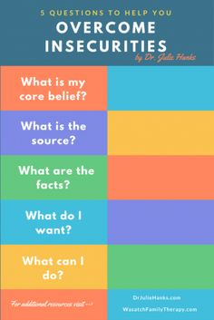 Self Improvement Questions - 5 questions to help you overcome insecurities