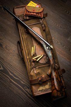 Droplock Double Rifle.