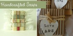 Have all your guests smelling sweet and thinking of you for weeks after your wedding with some handmade soap – you can buy Irish handmade soaps from The Handmade Soap Company or Crobally Irish Soaps or learn to make your own using a tutorial like this one by SoapQueenTV on youtube. Of all the wedding favour ideas this is probably the trickiest but your guests would be so impressed if you pulled it off!