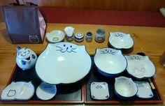 ある「うどん屋」で箸袋を集めてもらえる『食器』が、ものすごくカワイイと話題に 4枚 | BUZZmag
