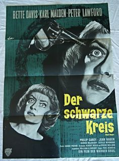 A personal favorite from my Etsy shop https://www.etsy.com/listing/453059354/dead-ringer-german-movie-poster-bette