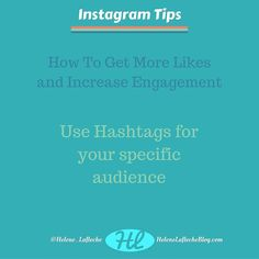 Use hashtags for specific audience  Get a balance between popular hashtags and less popular ones.  Check often if you make it to the top posts on many of them  If you find value please like and comment