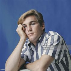 Drummer Dennis Wilson of the rock and roll band 'The Beach Boys' poses for a portrait.