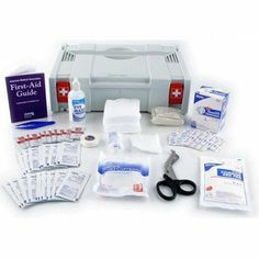 Festool M0119 OSHA-Approved First Aid Systainer by Festool. $89.00. Includes Systainer SYS-1, (100) 1-in x 3-in Adhesive Plastic Bandages, (3) Knuckle Fabric Bandages, (3) Fingertip Fabric Badages, Large, 2-in Conforming Gauze Roll Bandage, 40-in Triangular Sling/Bandage, with 2 Safety Pins, (6) 3-in x 3-in Gauze Dressing Pads, 5-in x 9-in Trauma Pad, (40) Antiseptic Cleansing Wipes (Sting Free), (10) First Aid/Burn Cream Pack, 0.9 g, 4-in x 5-in Instant Cold Compr...