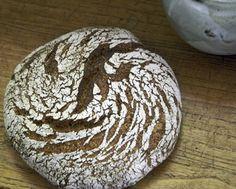 Cracked Rye with Polenta, Sourdough