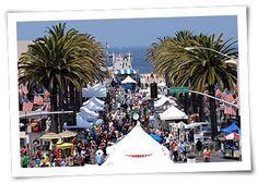 Fiesta Hermosa: Southern California's Largest Arts and Crafts Fair - Memorial Day and Labor Day Weekends in Hermosa Beach, California