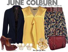 Inspired by Dreama Walker as June Colburn in Don't Trust the B---- in Apt 23.
