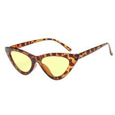 ce8fe08ff24 New Fashion Cute Sexy Ladies Cat Eye Sunglasses Women Vintage Brand