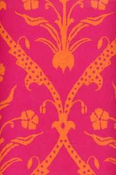 Pink And Orange Fabric I Have A Pair Of Pj S With This Color Combo Love