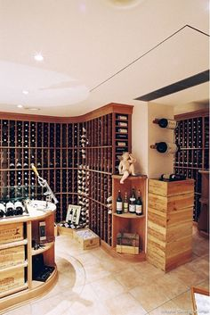 Gallagher Custom Wine Cellar - Home and Garden Design Idea's