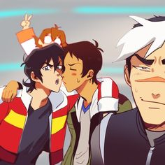 Keith / Lance | Shiro | Pidge