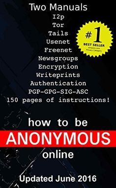 How to be Anonymous Online: Step-by-Step Anonymity with Tor, Tails, Bitcoin and Writeprints #bitcoin #bitcoins #btc #crypto #cryptocurrency #blockchain #bitcoinbillionaire #money #ethereum #bitcoinmining #technology