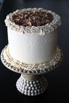 ♔ Butter Pecan Cake recipe