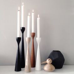 Simply beautiful Rolf™ original candlesticks by freemover.se