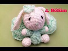 Amigurumi Örgü Oyuncak Tavşan Yapımı - 4 - YouTube