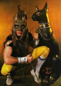 Bruce Dickinson (Iron Maiden - Powerslave era, 1984)