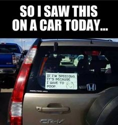 Saw this notice on a car today #Car, #Funny, #Notice