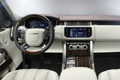 Inside the Range Rover Vogue.. >> available for rental in Cote d'Azur and…