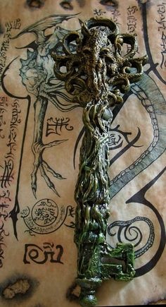 Rlyeh Key by MrZarono.deviantart.com on @deviantART
